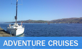 adventure sailing cruises scotland western isles, clyde, malt whisky distilleries, st kilda, passage building, milebuilder