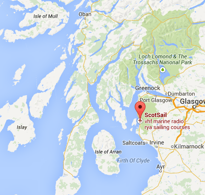 directions to Competent Crew Course