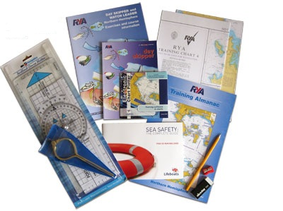 rya day skippers shorebased theory weekend intensive course classroom at largs yacht haven