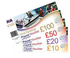 RYA PowerBoat Lesson Level 1 and 2 Gift Vouchers Scotland