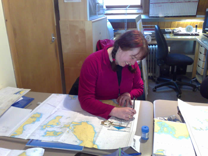 chartwork, navigation classes and tides